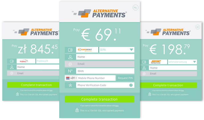 Alternative Payments Hosted Checkout